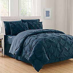 Hi-Loft Luxury Pintuck 8-Piece Comforter Set