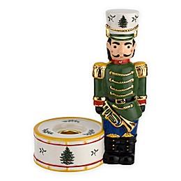 Spode® Christmas Tree Green Nutcracker Candle Holder