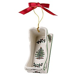 Spode® Christmas Tree Sleigh Ornament