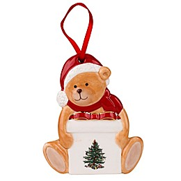 Spode® Christmas Tree Teddy Bear Ornament