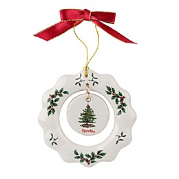 Spode® Christmas Tree Wreath Ornament