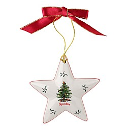 Spode® Christmas Tree Star Ornament