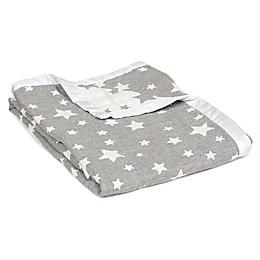 Living Textiles Muslin Jacquard Baby Blanket