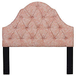 Pulaski Tufted Upholstered Headboard in Swoon Melon
