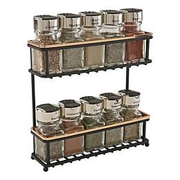 Macbeth Collection 2-Tier Slimline Spice Rack