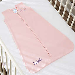 HALO® SleepSack® Personalized Cotton Wearable Blanket in Pink