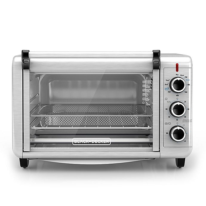 Alternate image 1 for Black & Decker™ Crisp N' Bake Air Fry Toaster Oven