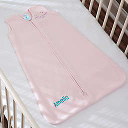 HALO® SleepSack® Personalized Micro-Fleece Wearable Blanket in Pink