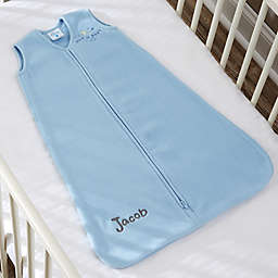 HALO® SleepSack® Personalized Micro-Fleece Wearable Blanket in Blue