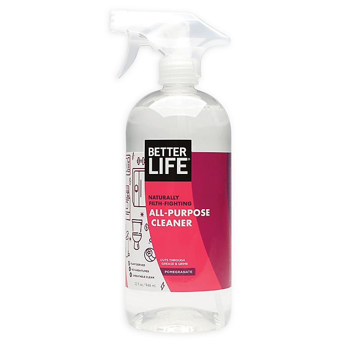 Alternate image 1 for BETTER LIFE® 32 oz. All-Purpose Cleaner in Pomegranate