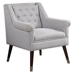 Donny Osmond Home™ Upholstered Accent Chair in Light Grey