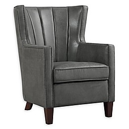 Donny Osmond Home™ Wing Back Accent Chair in Dark Grey