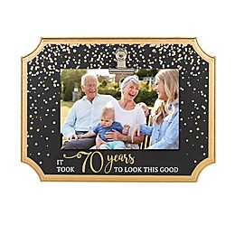 Grasslands Road® It Took 70 Years To Look This Good Clip Frame in Black/Gold