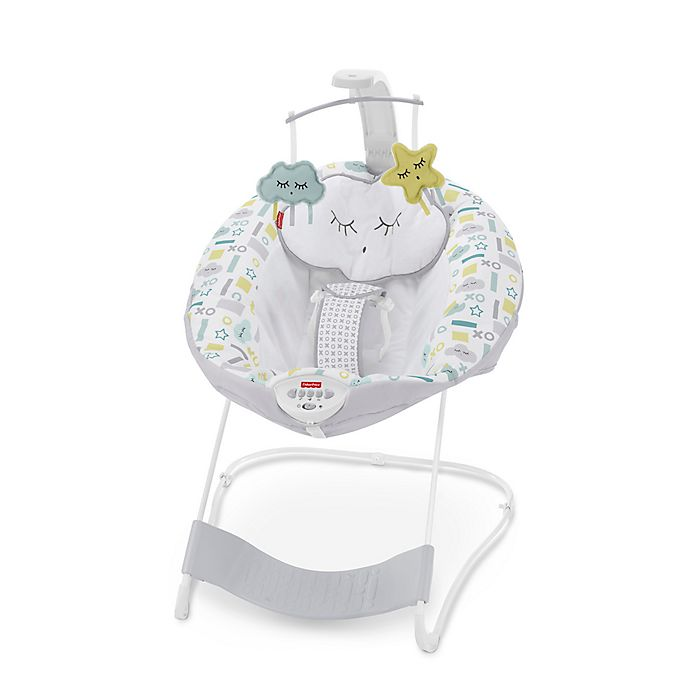 Alternate image 1 for Fisher-Price® XOXO See & Soothe™ Deluxe Bouncer