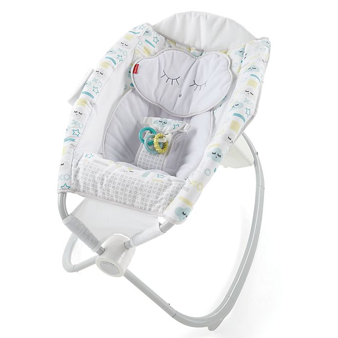 fisher price deluxe auto rock n play smart connect seat