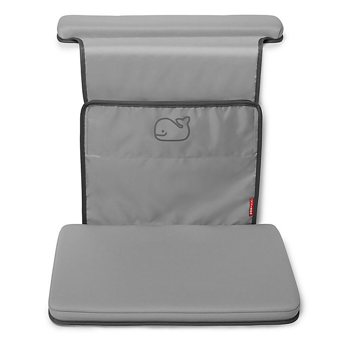 Alternate image 1 for SKIP*HOP® Moby All-in-One Elbow Saver & Bath Kneeler in Grey