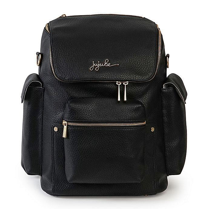 Alternate image 1 for Ju-Ju-Be® Ever Collection Forever Backpack Style Diaper Bag in Black