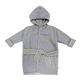 ED Ellen DeGeneres Size 0-9M ZigZag Love Hooded Bathrobe
