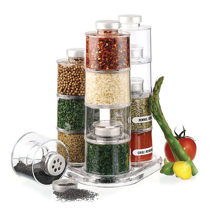 Alternate image 1 for Prodyne 12-Bottle Spice Tower Carousel