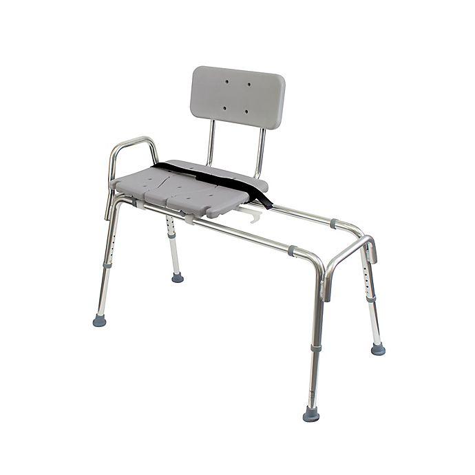 Terrific Dmi Heavy Duty Sliding Transfer Bench Shower Chair Bed Machost Co Dining Chair Design Ideas Machostcouk