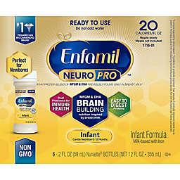 Enfamil™ NeuroPro™ 6-Pack of 2 oz. Ready-to-Feed Infant Formula Bottles