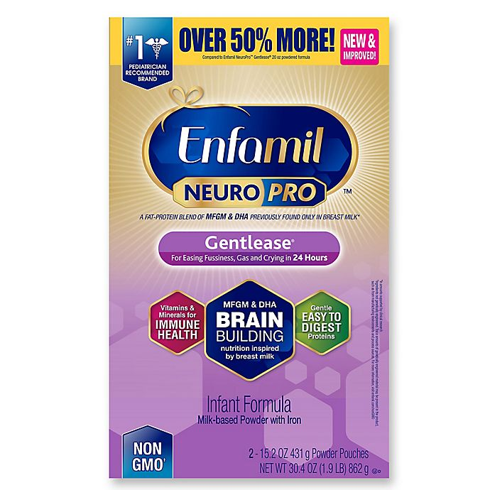 Alternate image 1 for Enfamil™ NeuroPro™ Gentlease® 30.40 oz. Powder Box Formula