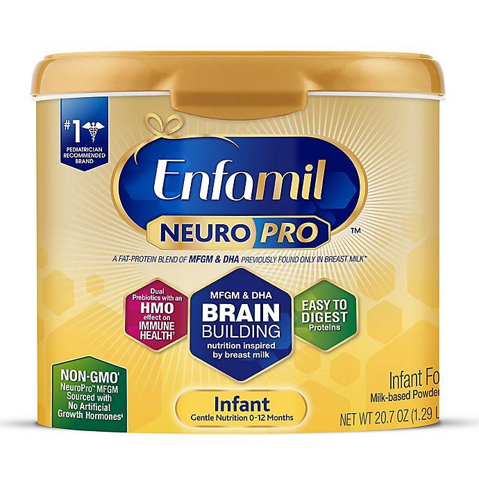 Alternate image 1 for Enfamil™ NeuroPro™ 20 oz. Powder Infant Formula Tub