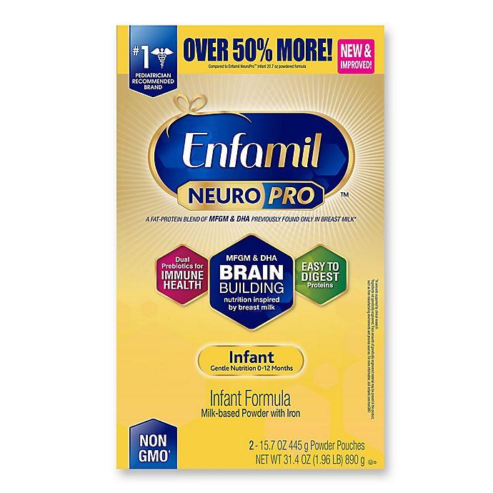 Alternate image 1 for Enfamil™ NeuroPro™ 31.40 oz. Powder Infant Formula Refill Box