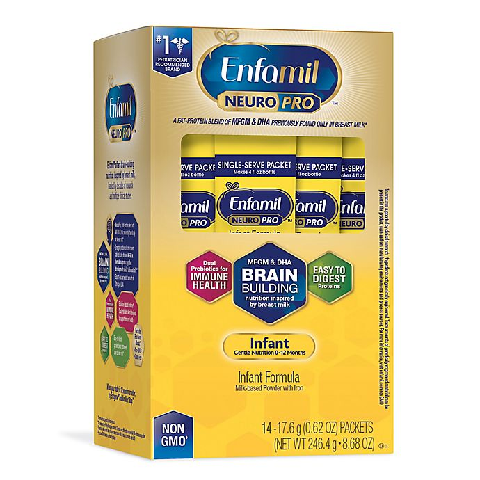 Alternate image 1 for Enfamil™ NeuroPro™ 14-Pack Single Serve Infant Formula Packets