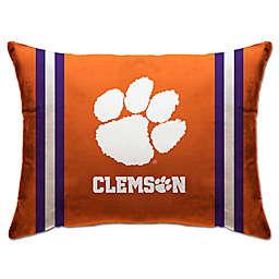 Clemson University Rectangular Microplush Standard Bed Pillow
