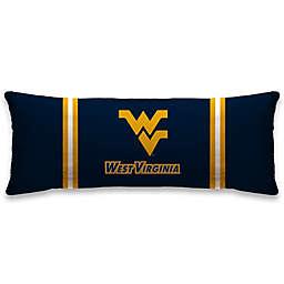 West Virginia University 20-Inch x 48-Inch Logo Body Pillow