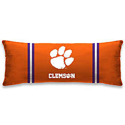 Clemson University 20-Inch x 48-Inch Logo Body Pillow