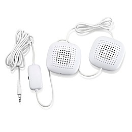 Sound Oasis® Sleep Therapy Pillow Speakers in White