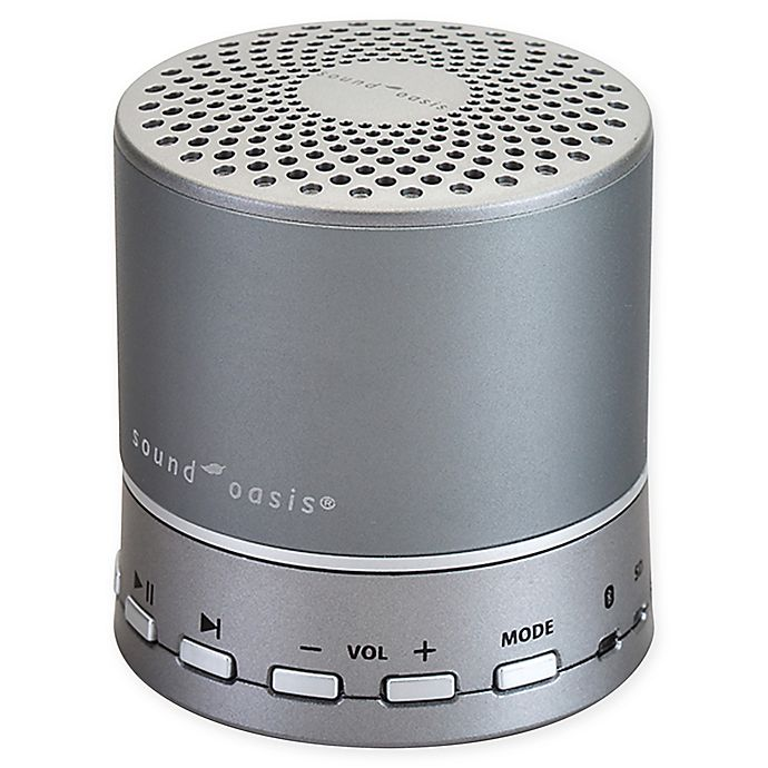 Alternate image 1 for Sound Oasis® Bluetooth Sleep Sound Therapy Machine in Silver