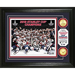 NHL Washington Capitals 2018 Stanley Cup Champions Celebration 2-Coin Photo Mint
