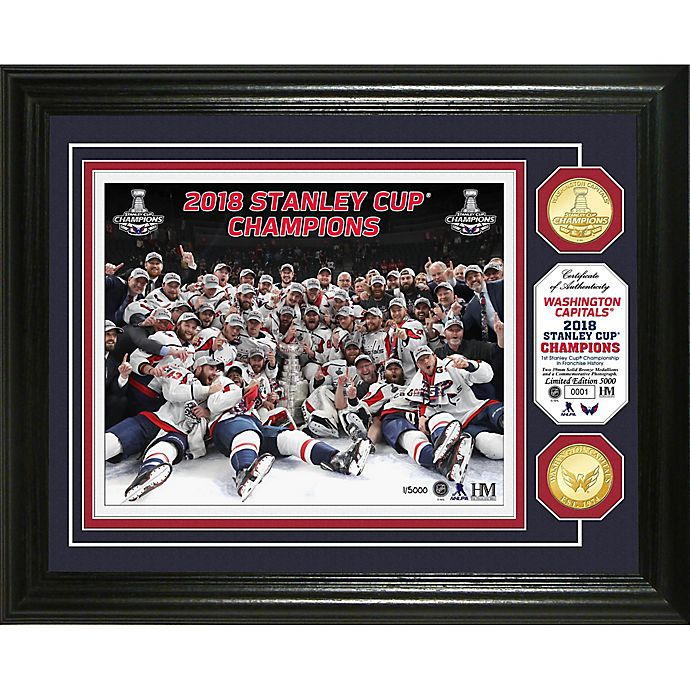 ed0aa9b8921 NHL Washington Capitals 2018 Stanley Cup Champions Celebration 2-Coin Photo  Mint