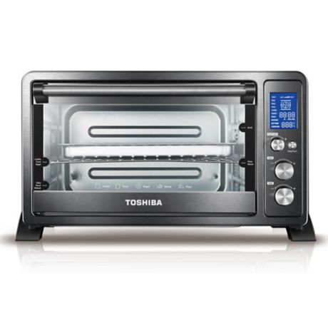 Toshiba 174 Stainless Steel 6 Slice Digital Convection