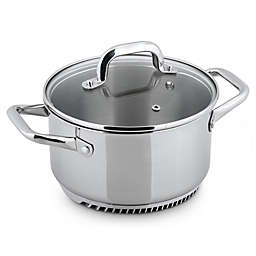 Turbo Pot® FreshAir™ Rapid Boil Stainless Steel 3.5 qt. Casserole Pot