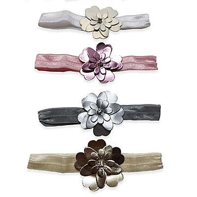 Curls & Pearls 4-Pack Flower Petal Headbands