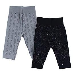 Capelli New York 2-Pack Splatter Leggings in Grey
