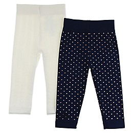 Capelli New York 2-Pack Mixed Hearts Leggings in Navy