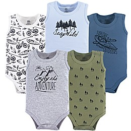 Yoga Sprout 5-Pack Adventure Sleeveless Bodysuits
