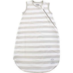Woolino® Striped Organic Cotton Wearable Blanket in Silver