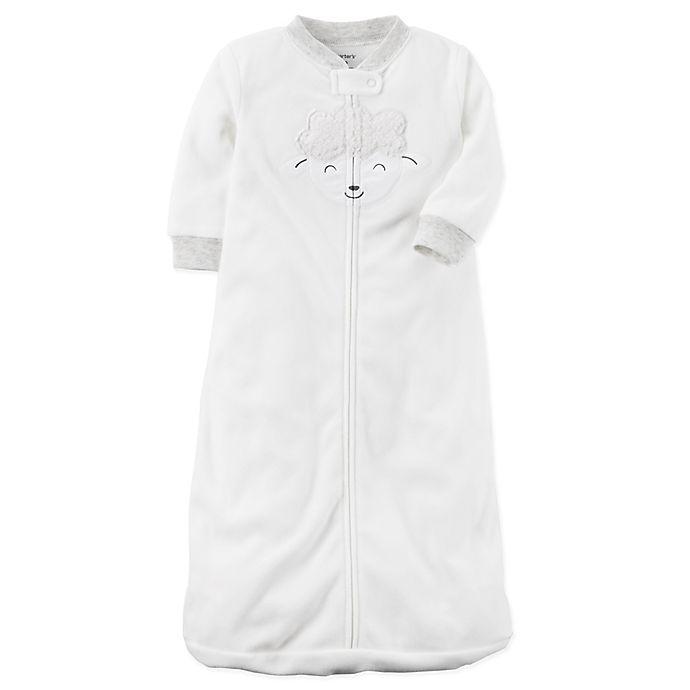 Alternate image 1 for carter's® Microfleece Sheep Sleep Bag in Ivory