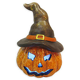 Lighted Jack-O-Lantern 5-Inch Halloween Decoration