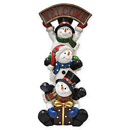 41 inch stacked snowman holiday decoration