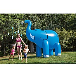 BigMouth Inc. 6 Foot Elephant Sprinkler in Blue