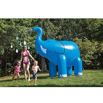 BigMouth Inc. 6 Foot Elephant Sprinkler in Blue