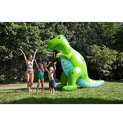 BigMouth Inc. 6 1/2 Foot Dinosaur Sprinkler in Green