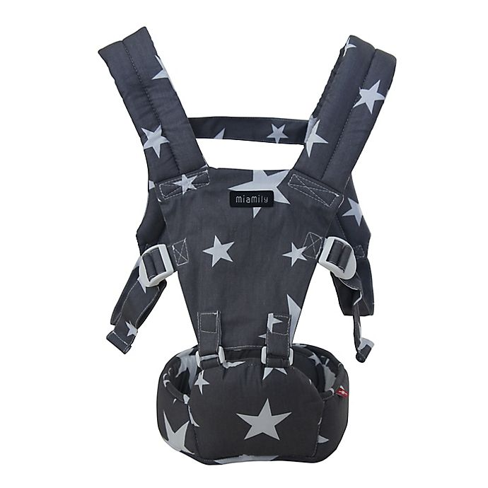 Alternate image 1 for MiaMily Doll Hipster™ Toy Carrier in Grey Star Print